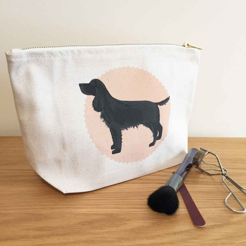 Cocker Spaniel Zip Bag