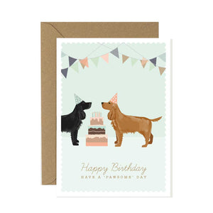 Cocker Spaniel Happy Birthday Card