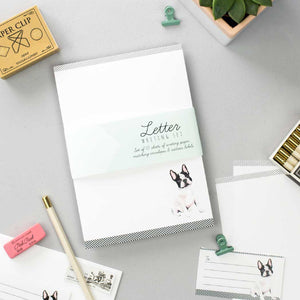 French Bulldog Letter Writing Set