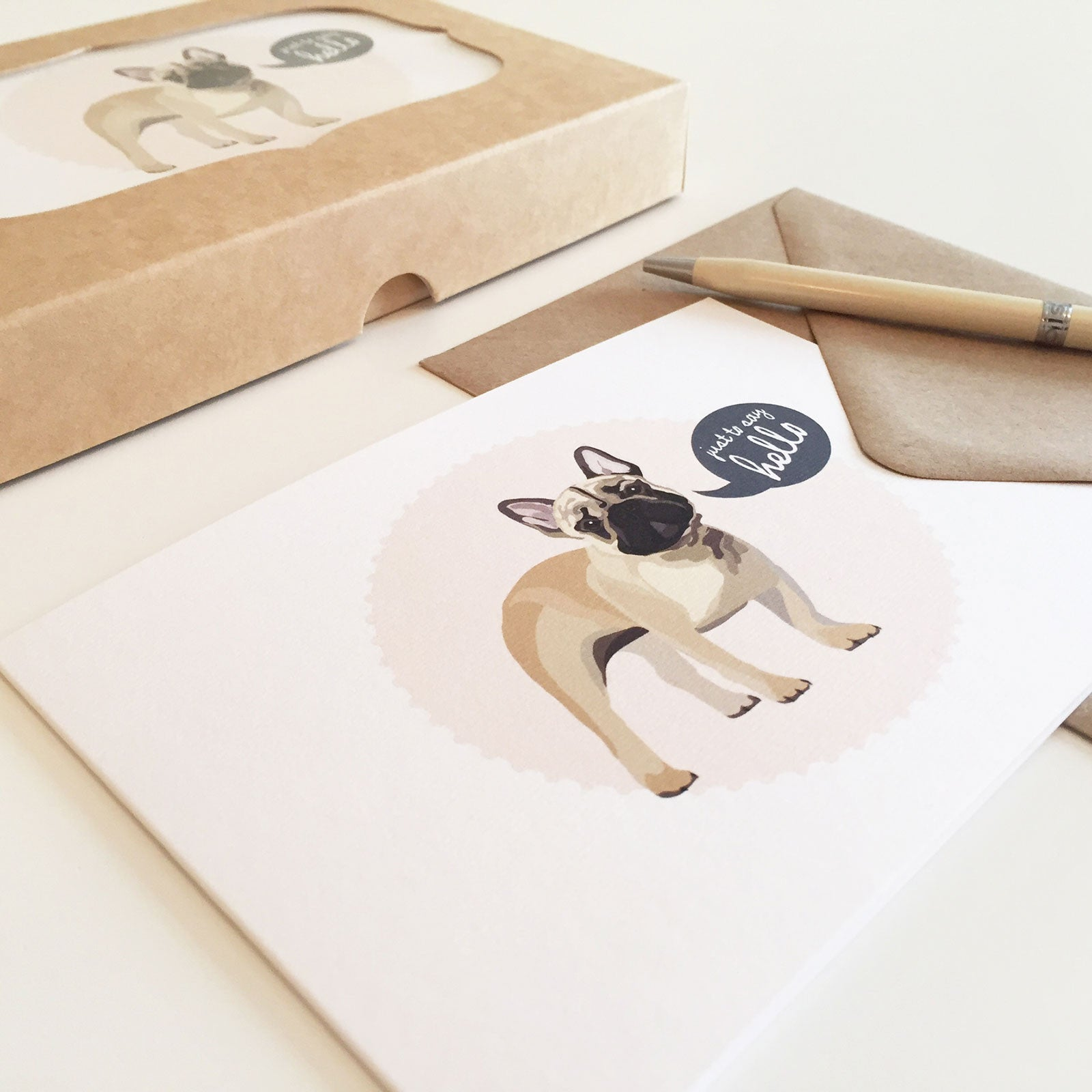 French Bulldog Notecards