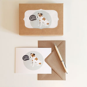 Jack Russell Notecards