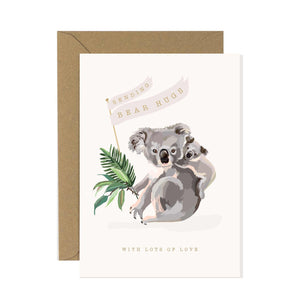 Koala Bear Hugs Card