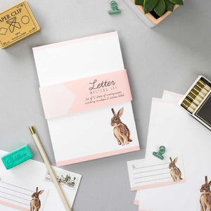 Rabbit Letter Writing Set