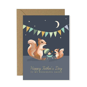 Father's Day Squirrel Card