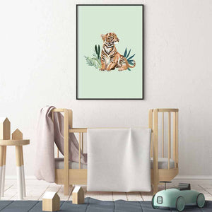 Tiger Illustrated Print