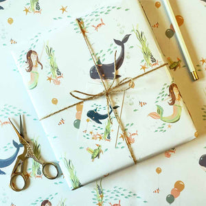 Under The Sea Wrapping Paper