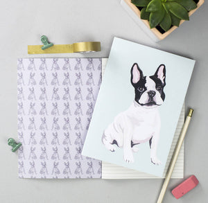 Set of 2 French Bulldog Notebooks