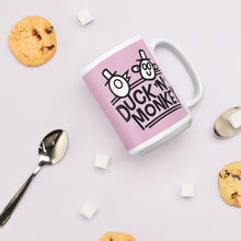 Load image into Gallery viewer, Duck 'n' Monkey Pink Mug - [Duck 'n' Monkey]