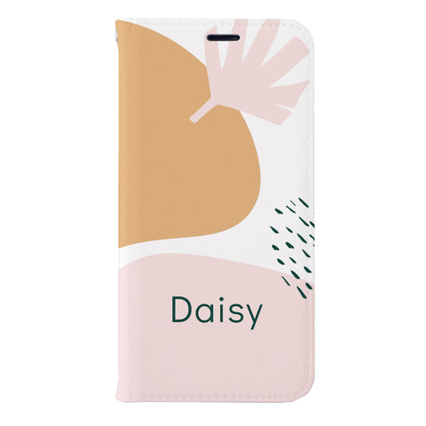 Daisy Leather Wallet Case