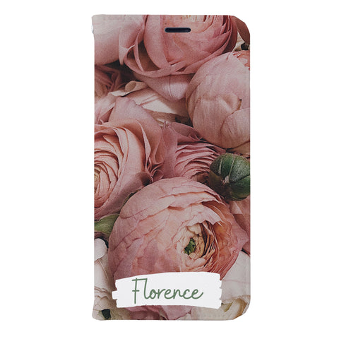 Florence Floral Leather Wallet Case