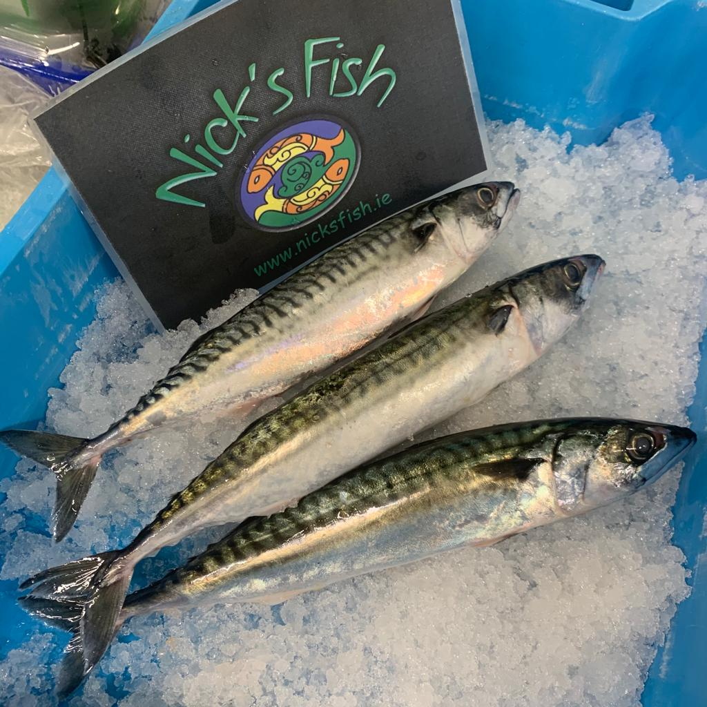 Line Caught Mackerel  - Fillets x 1kg