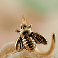 Gold Bee Nose Ring