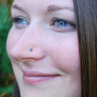 black opal nose jewelry