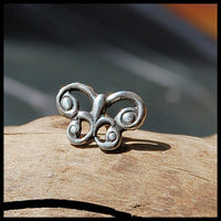 925 sterling butterly nose jewelry