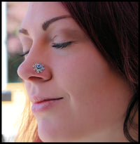 nickel-free sterling silver nose stud