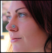 large bold unique nose jewelry
