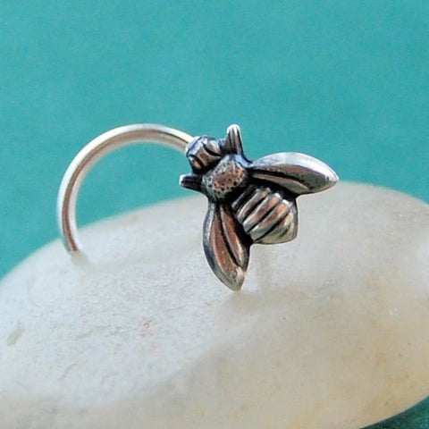 Bee Insect Nose Stud