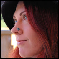 nickel-free nose jewelry in sterling silver