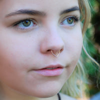 bold unique septum ring