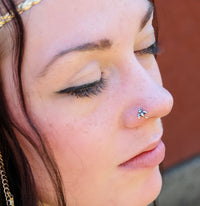 sterling silver nose jewelry