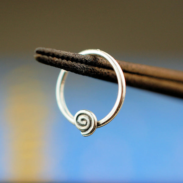 nickel-free sterling silver nose ring