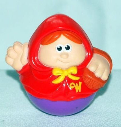 2004 Hasbro PLAYSKOOL Weebles Weeble Little Red Riding Hood Toy