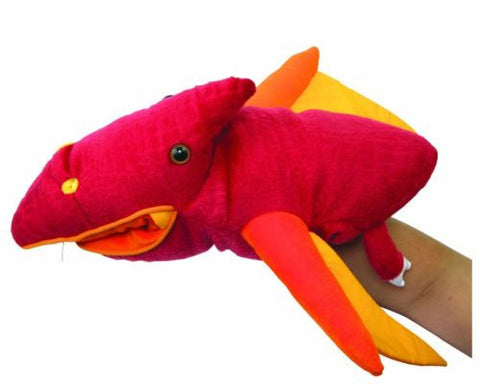 Prehistoric Pauly Reptile Plush Hand Puppet by Manhattan Toys