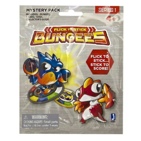 Bungees Flick to Stick Mystery Pack Series 1 Foil Blind Pack Ages 4+