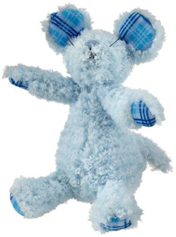 "New Manhattan Toy 8"" SNUGGLES MOUSE Plush Blue Stuffed Animal Lovely"