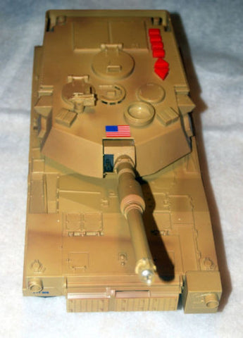 1993 M1A ABRAMS TANK MOVES AND TALKS! TOY STATE INDUSTRIES