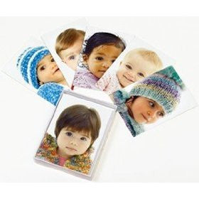 Lion Brand Yarn Babies 12 blank greeting cards with 6 knit patterns