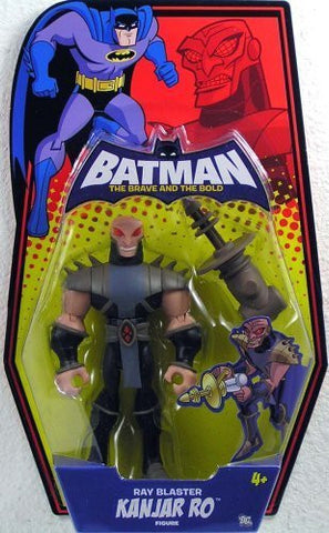 Batman Brave and the Bold Action Figure Kanjar Ro (Ray Blaster)