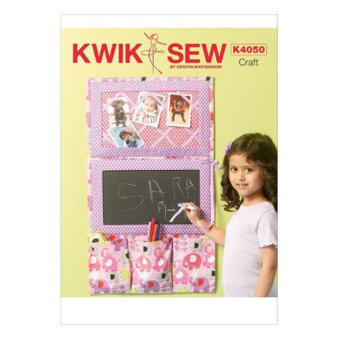 KWIK-SEW K4050 Sewing PATTERNS Organizer, One Size Only Misc.