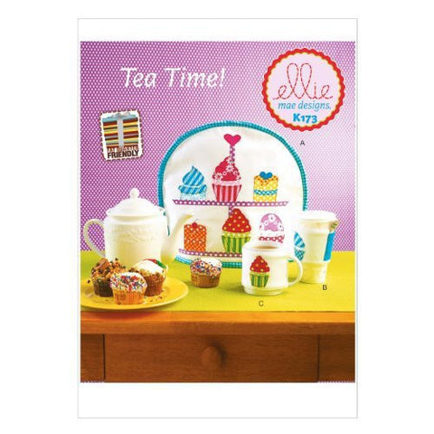 KWIK-SEW K0173 Sewing PATTERNS Tea, Mug and Coffee Container Cozies, One Size Only
