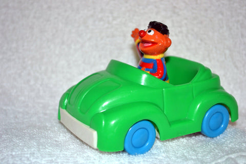 Jim Henson Sesame Street Ernie in Green Convertible by Illco