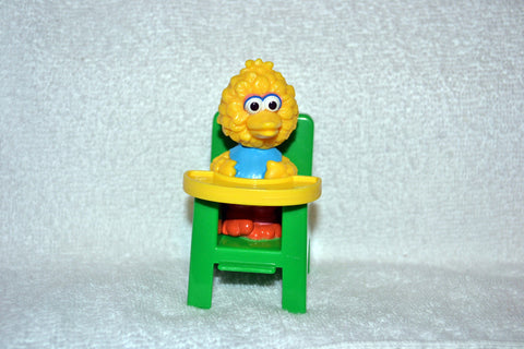 Jim Henson Sesame Street Baby Big Bird Sitting in High Chair by Illco