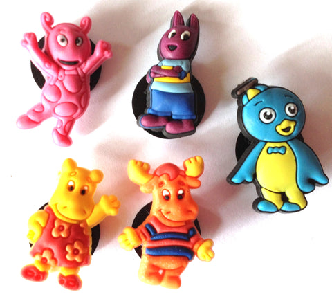 Backyardigans Shoe Charm Cake Decorations (Set of 5)