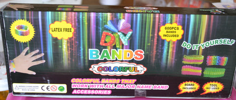 Deluxe Rubber Band Bracelet Loom Arts & Craft Rubberband Tools Kit