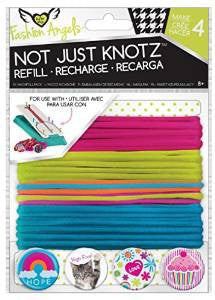 Girls Fashion Angels Not Just Knotz Bracelet Refill Kit - Neon