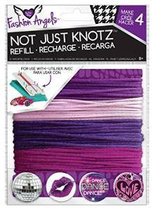 Girls Fashion Angels Not Just Knotz Bracelet Refill Kit - Purple