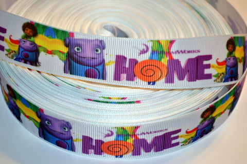"Home Movie Inspired 3 yards 1"" Gross Grain Ribbon for Hair Bows Crafts Scrapbook"