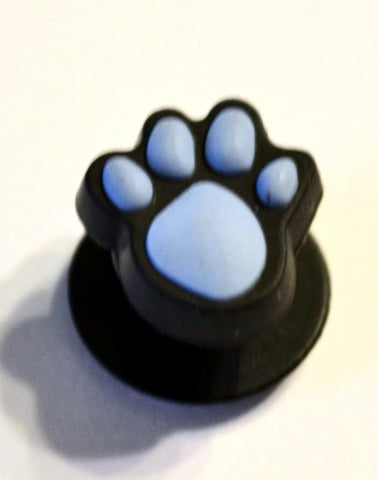 Animal Paw Authentic Jibbitz Paw Print - Blue Crocs Shoe Charm Decorations