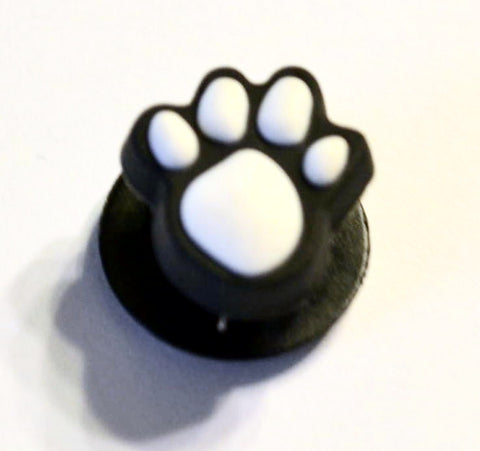 Animal Paw Authentic Jibbitz Paw Print - White Crocs Shoe Charm Decorations