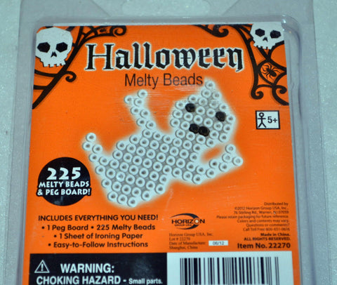 Halloween Melty Beads - Spooky Ghost