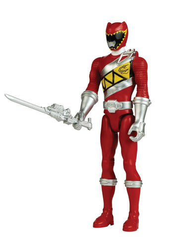 "Ban Dai Power Rangers Dino Charge Red Ranger 12"" Action Figure"