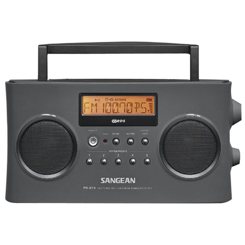 Sangean Digital Portable Stereo Rds Receiver