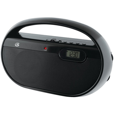 Gpx Am And Fm Portable Clock Radio