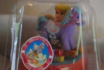 1994 Dreamlove Horse with Little Boy Play Set by Arcotoys