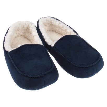 Circo Slippers Cushioned Boys Navy Blue Large New NWT