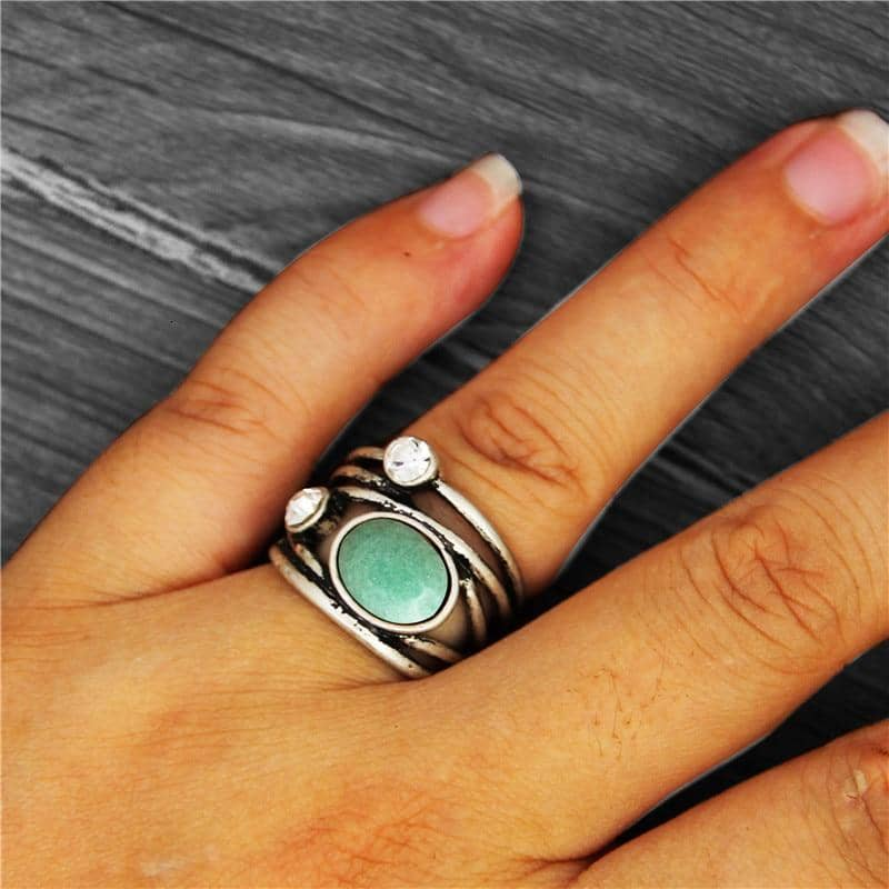 Anstory Official Store Rings Prosperous Allure